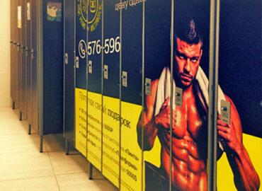 Реклама в фитнес клубах